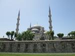 Tampak Samping Blue Mosque