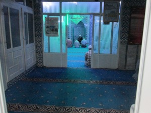 Bagian dalam Dugmeciler Camii