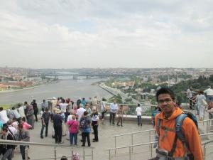 Pemandangan Istanbul dari Pierre Loti
