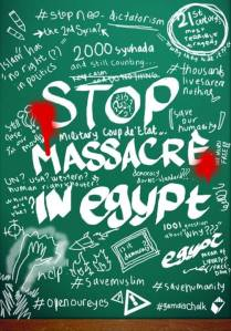 Stop Massacre in Egypt