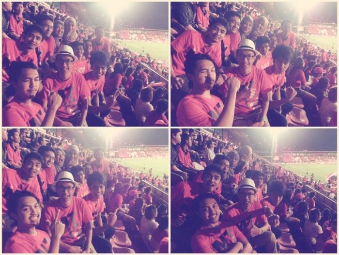"Nonton Bola @Stadion ""MU"" Thailand"
