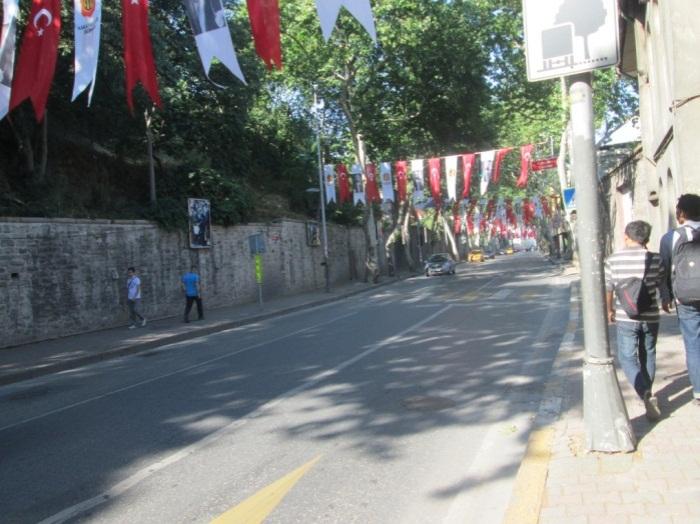 Salah satu sudut Jalan Istanbul