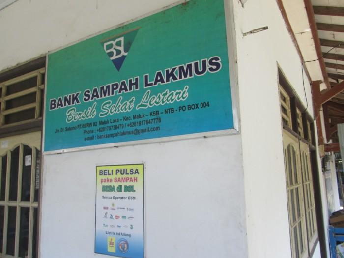 Bank Sampah Lakmus yang diinisiasi PT. Newmont